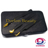 Half Gold Plated and Half Color coated eyelash extension tweezer with magnetic case