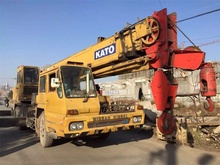 Nissan UD Kato NK250EV 25 ton used truck crane for sale