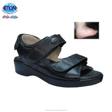 Turkish Best Quality Medical Sandals for Diabetic With Orthopedic, Soft Leather