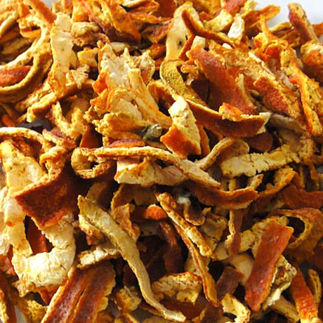 Hot sell good quality natural spice orange peel dried