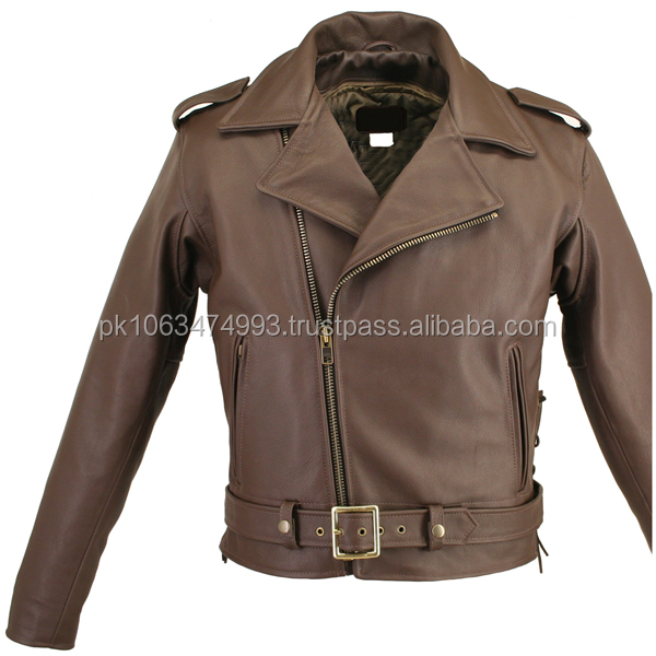 leather jacket companies in sialkot/Leather Motorcycle Jacket Leather Biker Jacket