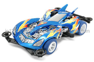 Reliable Full Cowl Mini 4WD Spin Viper Pearl Blue Special (VS Chassis) MINI4WD with Plastic model made in Japan