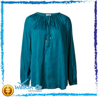 formal ladies chiffon tops women ladies' blouses