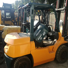 China Used Second Hand 4 ton TOYOTA Forklift 7FD40 in Good Condition for Sale