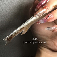 Durable and Fashionable nail form with the longest in the world