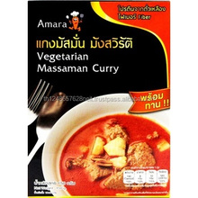 High Quality Halal Thai Food Ready to Eat Vegetarian Massaman Curry
