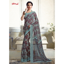 Printed Online Fancy Georgette Saris