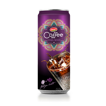 Aluminium can Vietnam Coffee drink - Fruit Juice Chia seed