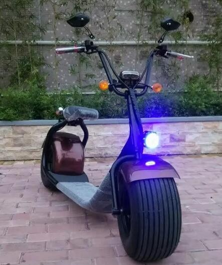 Adult Brussless Motor 1000W Electric Motorcycle