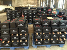 used car batteries for sale N12012V 120AH dry recharged car batteries for trunk, car, bus with reasonable price