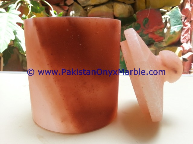HOT SALE POPULAR HIMALAYAN SALT CANDY JARS