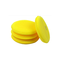 BRILLANTCARE Soft Car Waxing Sponge Pads/ Microfiber Car Polish Sponge/ Foam Applicator Pad
