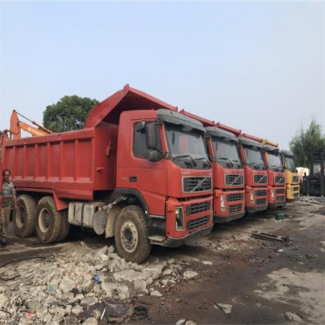 Tiper Dump Truck Made in Korea Original Volvo Used Trucks FM12 Cheap Price Sale