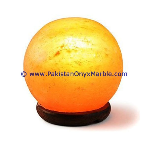 Long Life Pakistan Best selling HIMALAYAN IONIC SALT CRYSTAL BALL LAMP