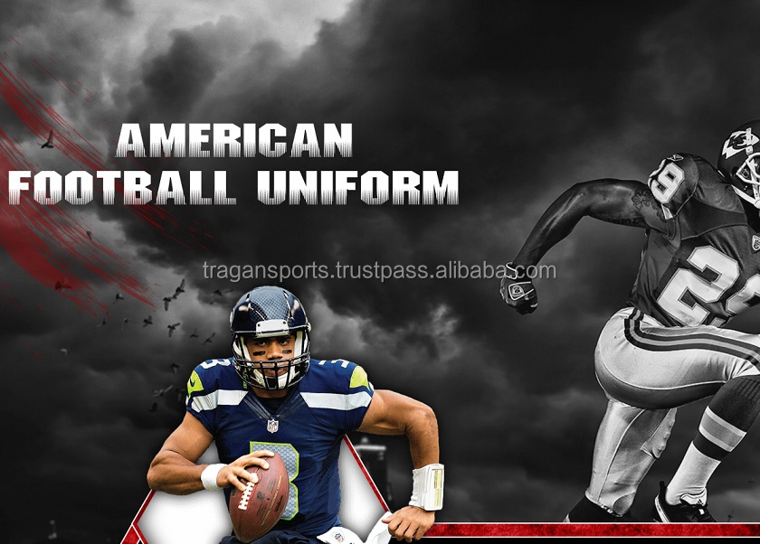Sublimated American Football Uniforms & Jersey