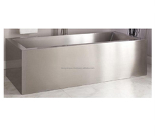 Stainless Steel Freestanding Bathtub