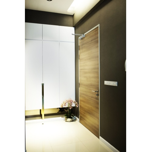 ID HPL Fire Rated Door 1 Hour Metal Frame