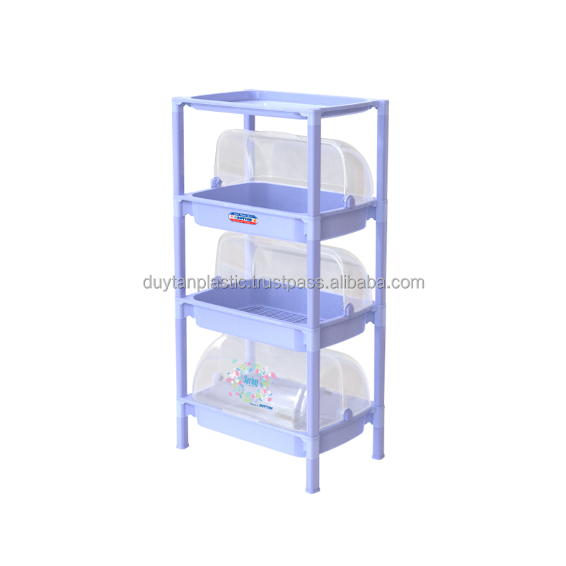 SMALL COVER SHELF - 3 STAGES - No.0379/3 - DUY TAN PLASTIC