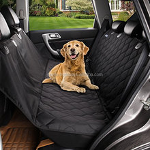 Auto Backseat Cover Hammock Design Non-Slip Quilted Pet Mat Car Dog Seat Cover