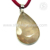 Rose quartz gemstone shiny pendant 925 sterling silver jewelry pendants wholesaler