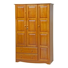 Wardrobe Clothes Bedroom Furniture 3 Jepara Doors