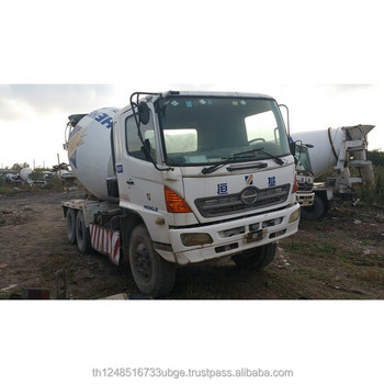 Used Hino Cement 8CBM Mixer Truck For Sale