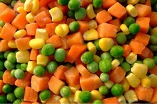 IQF Frozen mixed vegetables(3t types)