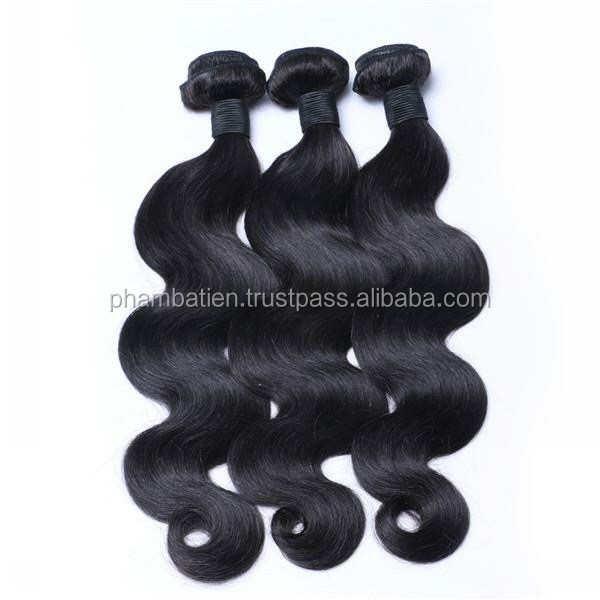 High Quality Body Wavy Wefted Hair from Vietnamese Women with Competitive Price