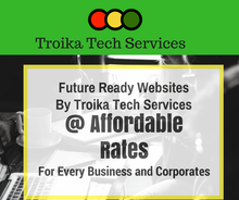 Troika's Premium Website Designing and Development Comes with Free Domain, Hosting, Emails and Much More at Affordable Cost