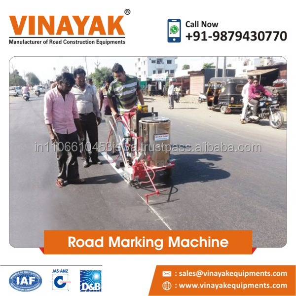 Hand push/Manual hot melt thermoplastic road marking machines and road paint machines
