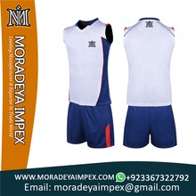 Sublimation Custom Volleyball Team Uniform men and women
