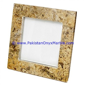 HIGH QUALITY MARBLE PHOTO FRAMES ROUND SQUARE OVAL SHAPE HOME OFFICE