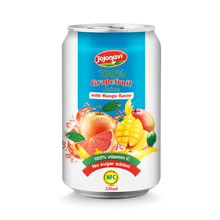 White Grapefruit pure Juice drink with Mango flavour beverage manufacturers for 330ml