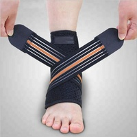 Fashion style Breathable ankle wraps ankle brace ankle support bandage for running