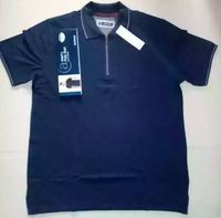 Bangladesh Garments Stock Lot/Shipment Cancel Mens Polo With Half Zipper & Button/Surplus Stocklot Garments in Bangladesh