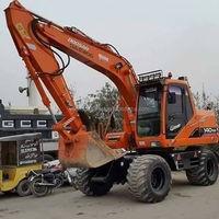 used 14t construction machinery doosan 140w good condition excavator