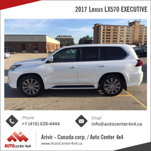 2017 Lexus LX570 EXECUTIVE - Luxury SUV
