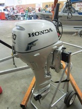 Free Shipping For Used Honda 20 HP 4 Stroke Outboard Motor Engine
