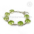 Green cz gemstone bracelet handmade india 925 sterling silver jewelry bracelets wholesale