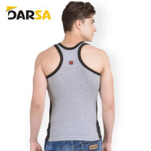 Custom summer cool comfortable blank men tank top with custom logo front back
