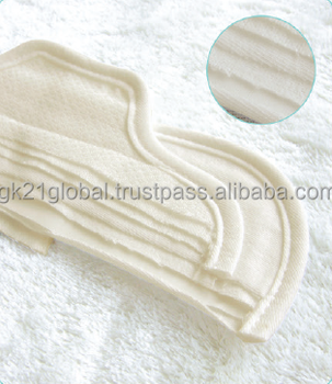 Sanitary pad, GNARAN Washable Cloth Incontinence Pads & Menstrual Pads