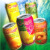 Fruit drink juice with Pulp Tin can 330ml