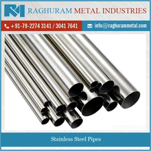 Best Standard Grade Raw Stainless Steel Pipe/ Tubes from Reputed Manufacturer
