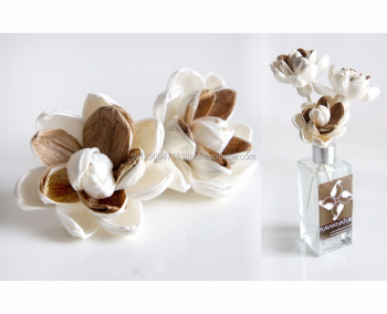 Magnolia sola flower for reed diffuser home fragrance .