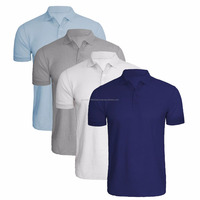 High quality cut and stitch polo shirt for men