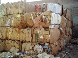 We supply OCC waste paper, 100% cardboard
