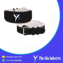 bodybuilding padded weight lifting power belt