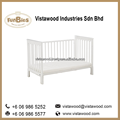 wooden baby crib cot bed furniture