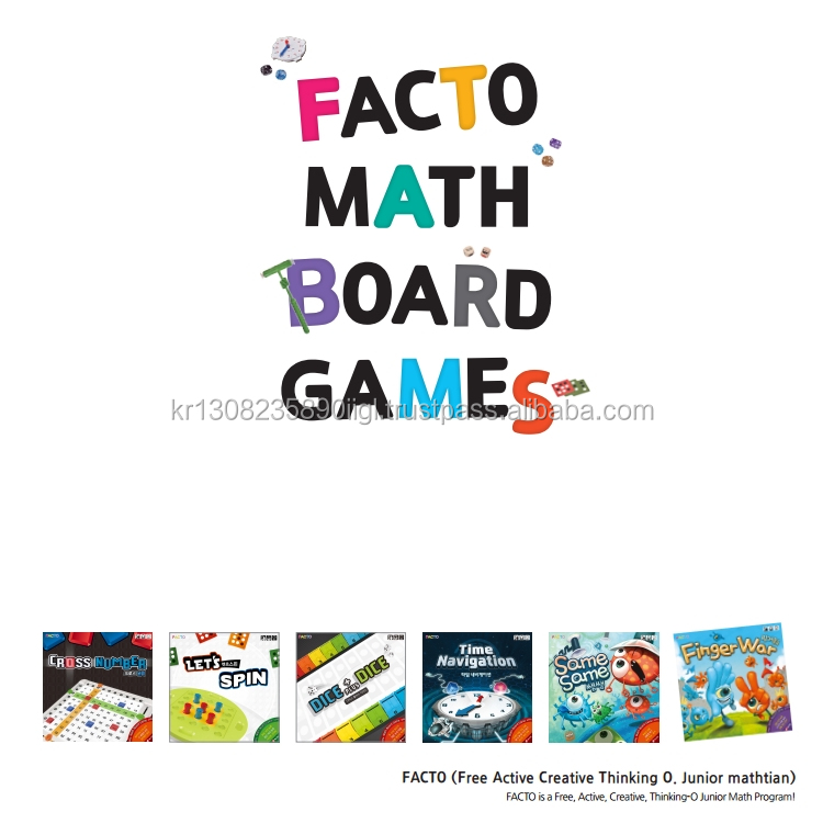 Low cost children's books that teach 5th grade ideas facto math board game let's spin