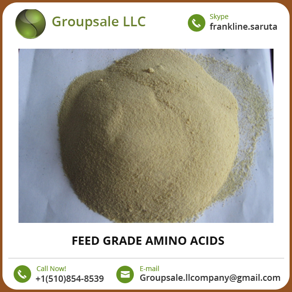 High Quality Feed Grade Pure Amino Acids Available in Different Quantities